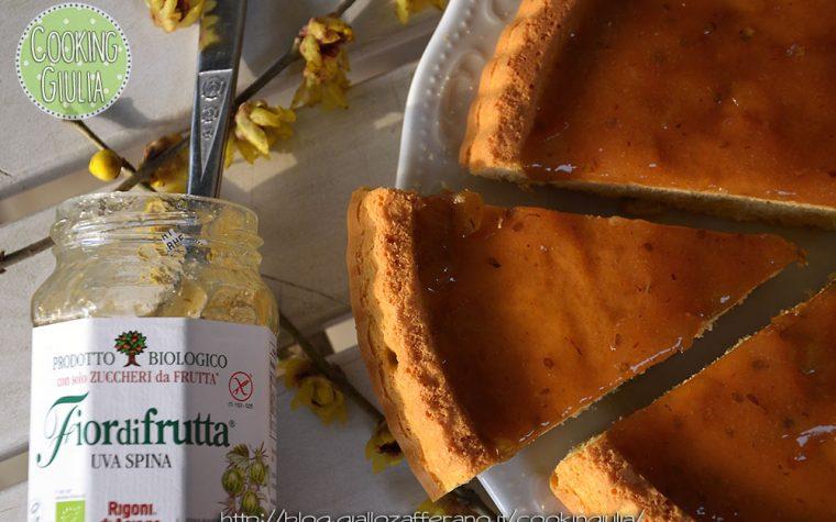 Crostata morbida con Fiordifrutta uva spina