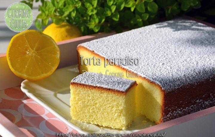 Torta paradiso al profumo di limone