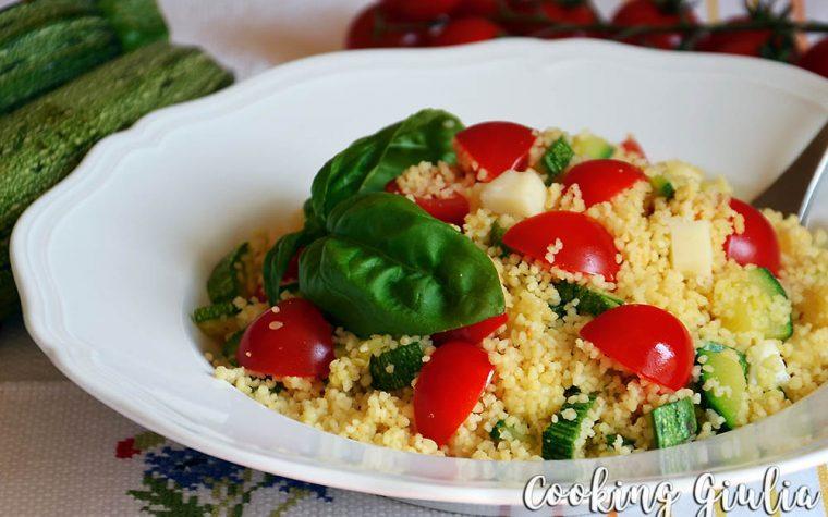 Cous Cous Zucchine e Pomodorini