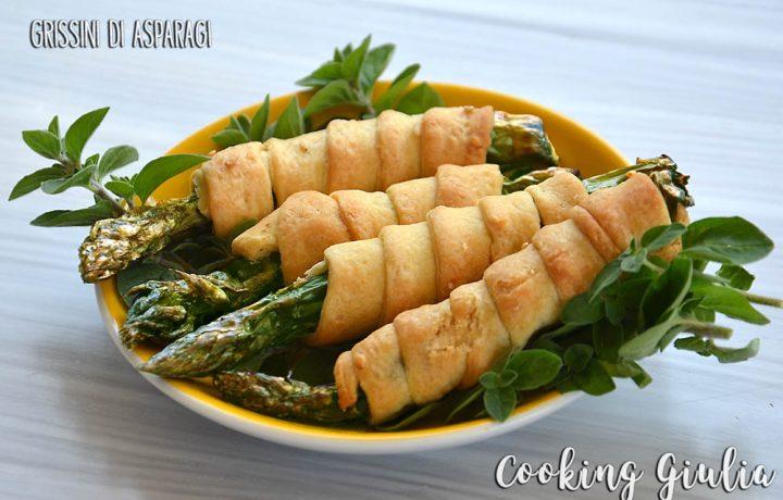 Grissini di asparagi, ricetta finger food