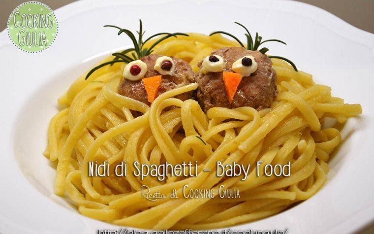 Nido di spaghetti – Ricetta per Bambini – Baby Food
