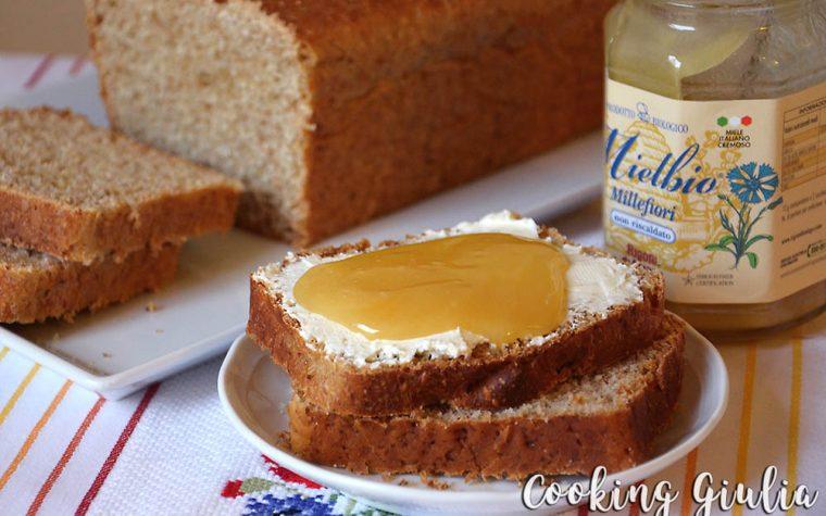 Pandolce al miele con farina integrale