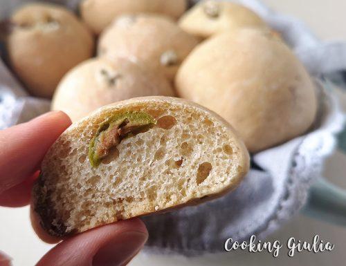 Panini alle Olive, per spuntini o aperitivi