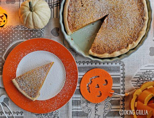 Pumpkin Pie, crostata di zucca speziata