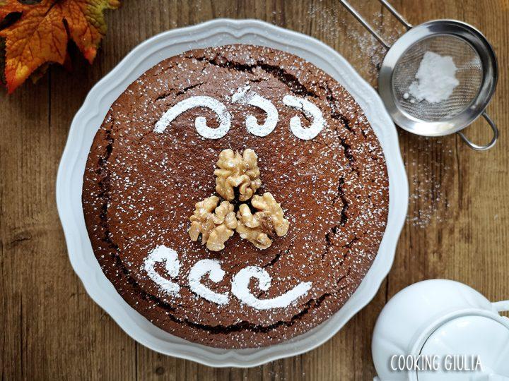 Torta Noci e Cacao