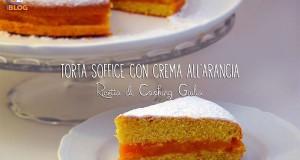 Torta con crema all'arancia