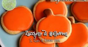 Biscotti Halloween a forma di Zucca