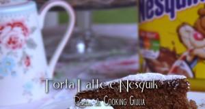 Torta latte e Nesquik