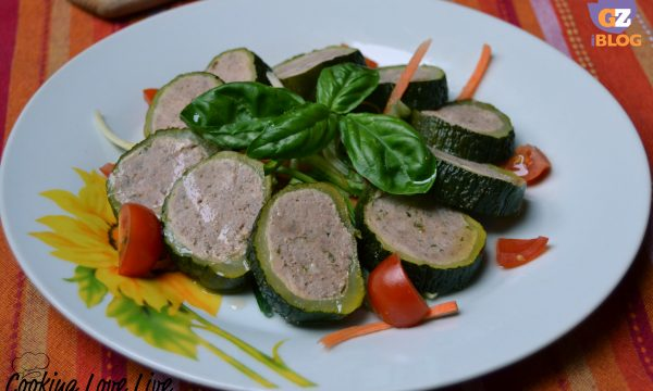 Rollè di Vitello in zucchina
