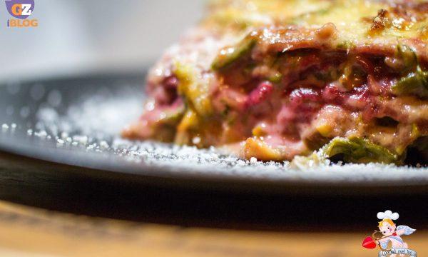 Pasticcio di lasagne Rosse con asparagi