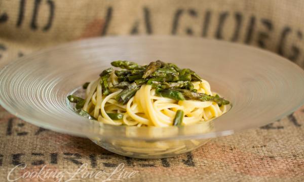 Bavette agli asparagi ( ricetta veloce )