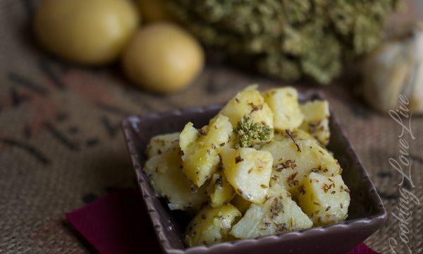 Insalata di Patate : ricetta facile