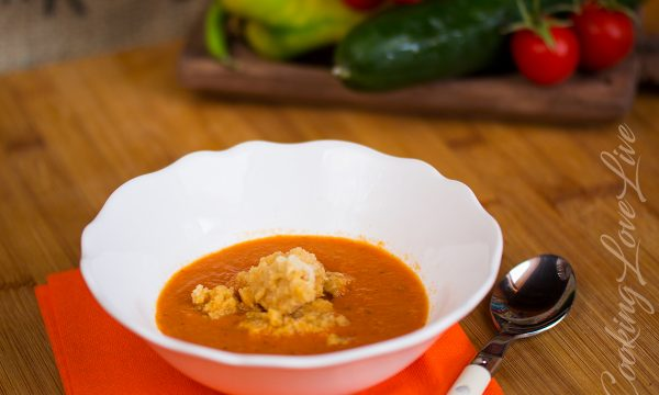 Gazpacho Andaluso (zuppa fredda)