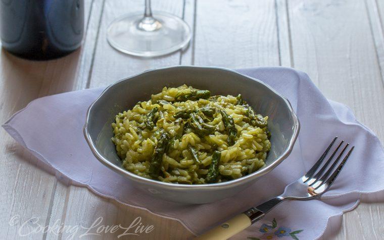 Risotto agli asparagi e parmigiano