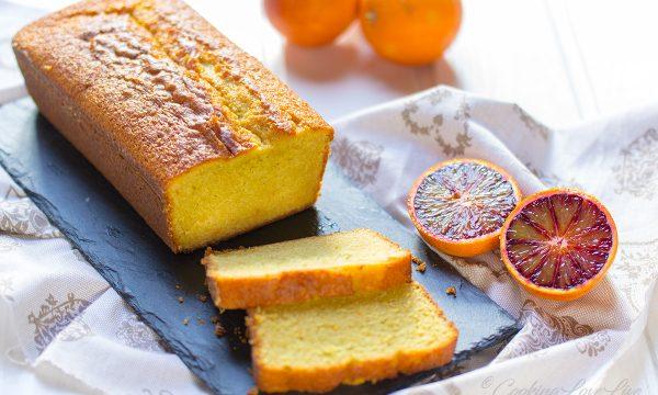 "Plumcake all'arancia ""Moro"""