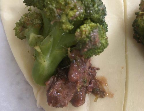 Caramelle broccoli e alici