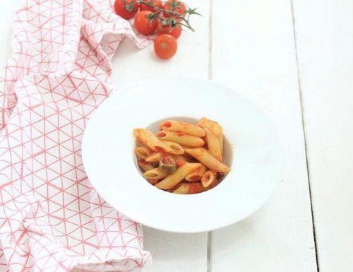 Pasta al sugo di olive