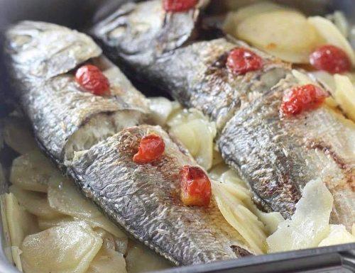 Pesce serra con patate