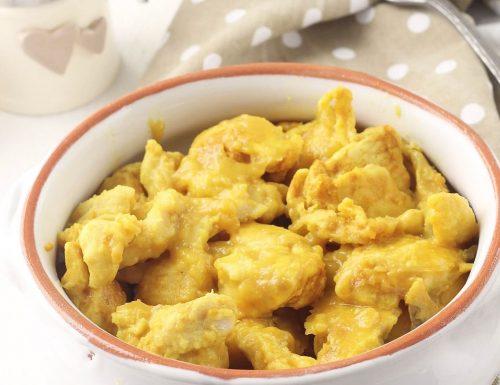 Bocconcini di pollo alla curcuma