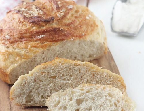 Pane veloce senza impasto