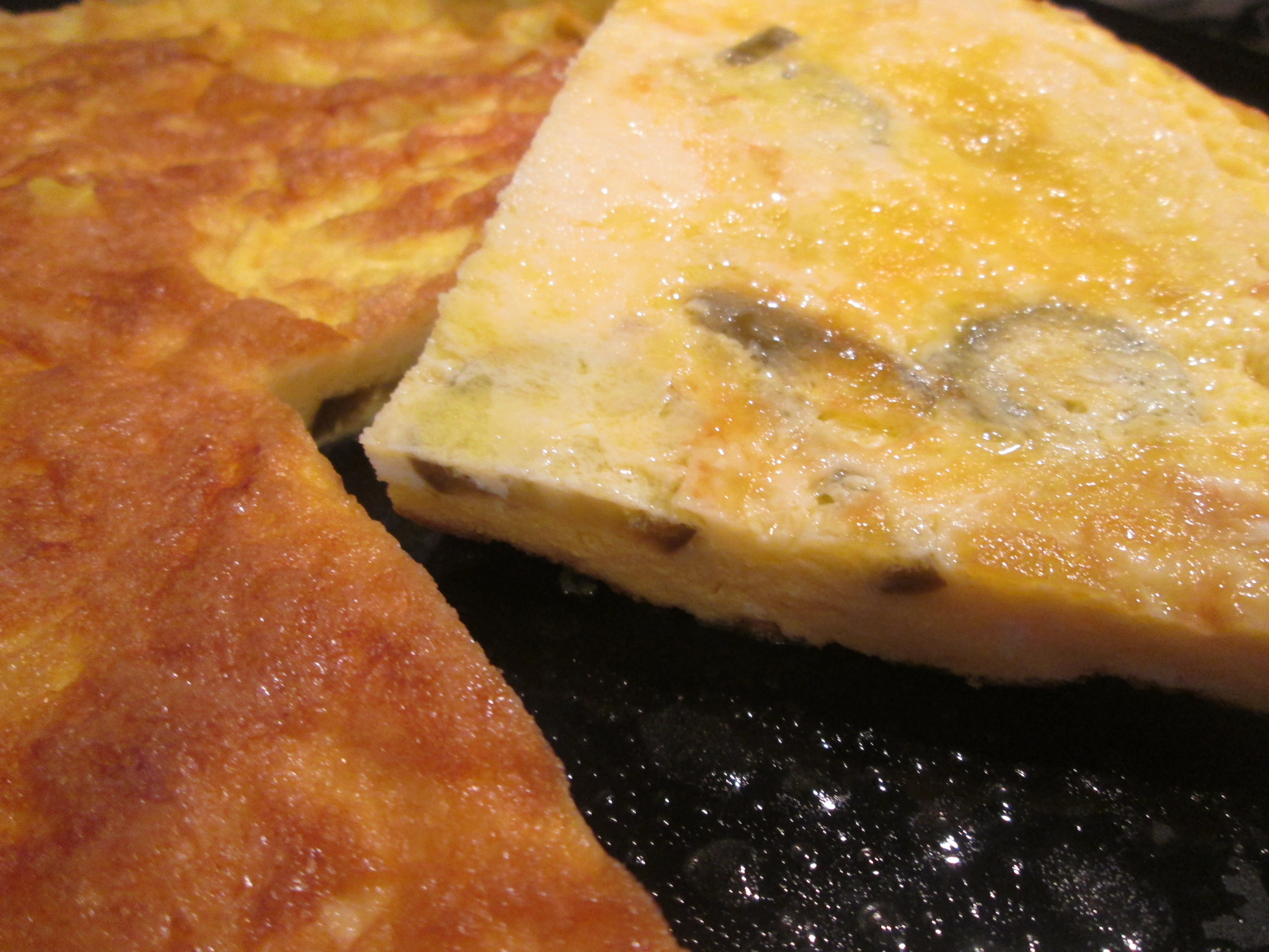 Frittata messicana cooking time for Cucinare jalapenos