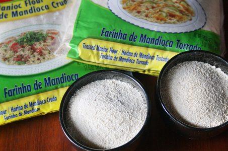 Nello specifico…. la farina di manioca