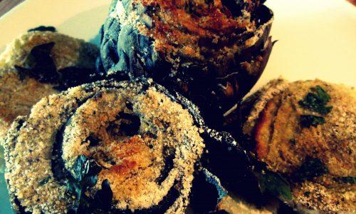 Carciofi e finocchi gratinati