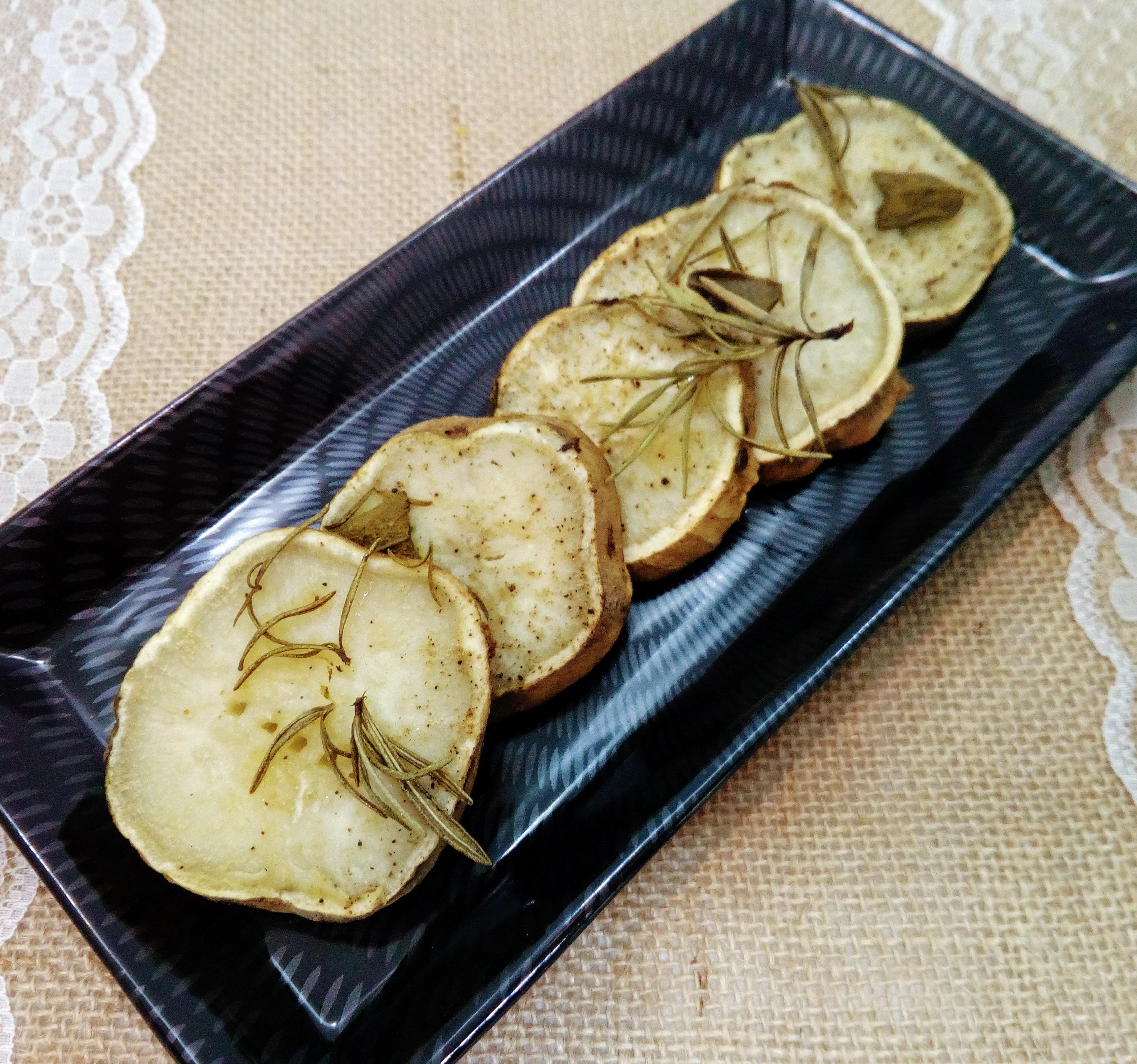 Patate dolci americane al forno con erbe aromatiche cooking time - Cucinare patate americane ...