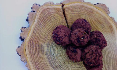 Finti tartufi di frutta secca