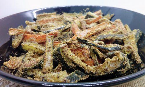 Bastoncini di zucchine e carote