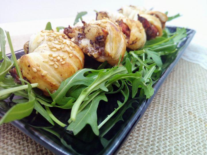 gamberoni in crosta