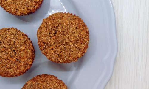 Muffin di grano saraceno e carote