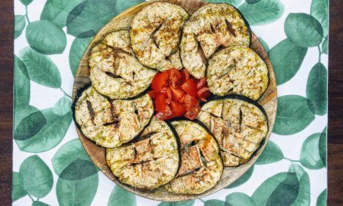 Medaglioni di melanzane al forno