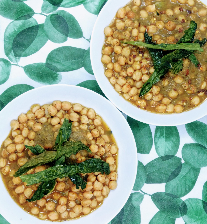 zuppa di verdure con ceci