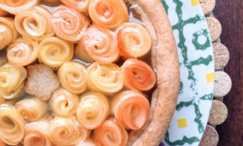 Crostata di rose