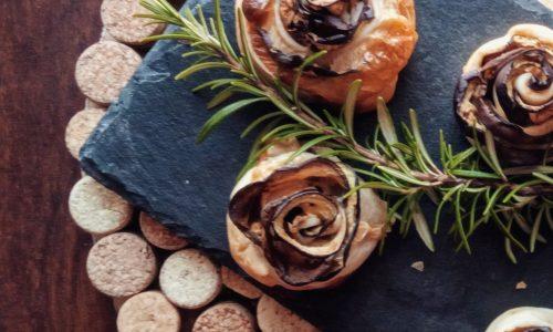 Rose di melanzane (ricetta vegetariana)