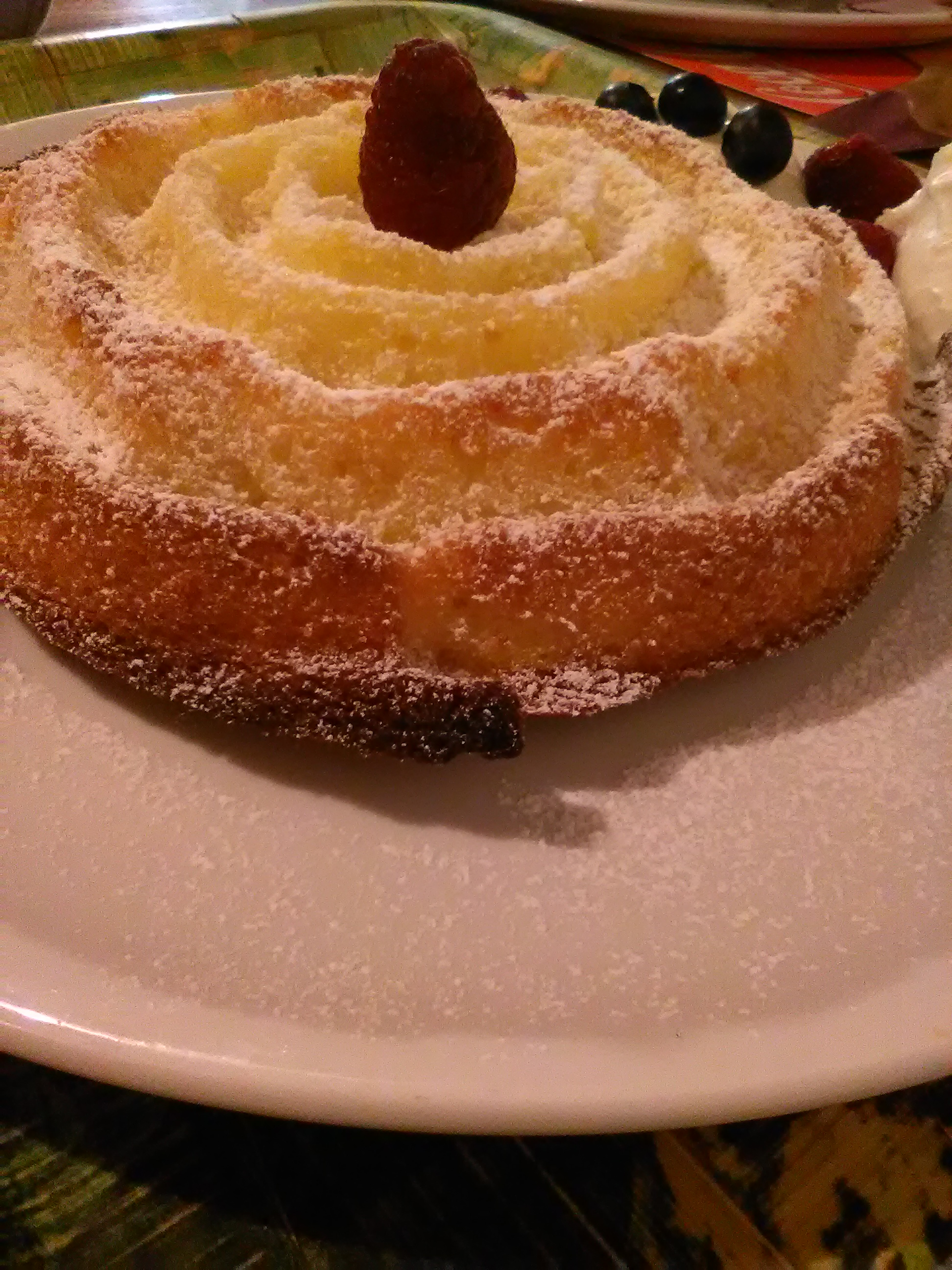 Torta  Muffin Rosa di Natale