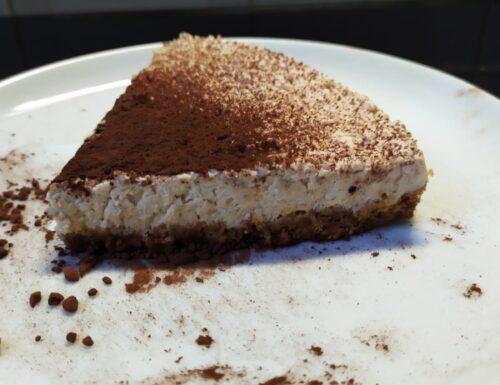 Cheesecake SENZA COTTURA caffè e cocco