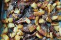 Costolette d'agnello al forno con patate