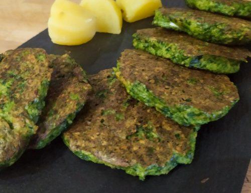 Hamburger di spinaci e patate