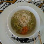 Zuppa di Daikon con noodles di riso, tutto molto Japan