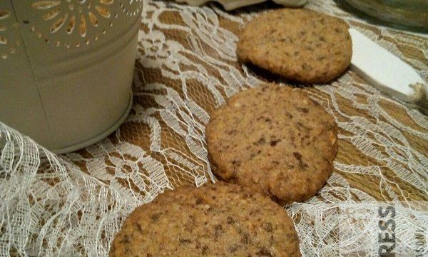 I Cookies al cioccolato fondente e nocciole