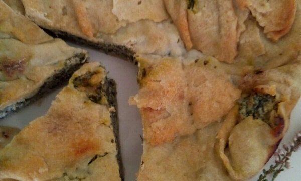 La Pasta Matta ed i suoi impieghi, la torta rustica bietole e ricotta senza uova