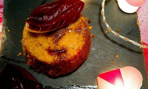 Flan di Radicchio Rosso e Gorgonzola