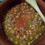 Cicerchie e Salsiccia in Zuppa