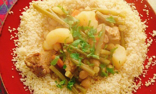 Cous Cous di manzo con verdure