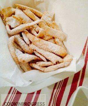 Carnevale con chiacchiere fritte!