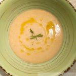 Zuppa di pane alla ferrarese con olio al rosmarino