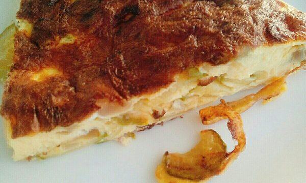 Super Frittata Zucchine e Robiola