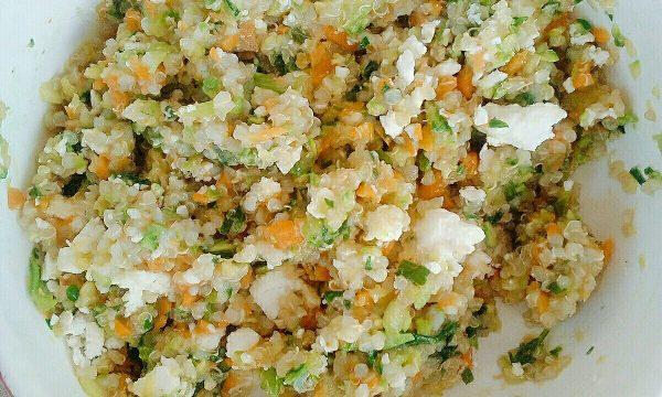 Summer Salads: insalata di quinoa, verdure in padella e feta
